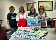 Blankets Made For Service Project