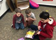 Kindergarten - JH reads and Dr. Seuss