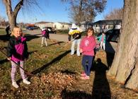 #BeKind Leaf Raking Project