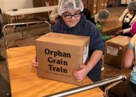 3rd Graders Pack Food for Mercy Meals continued