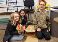 4th Grade Students Tackle STEM Projects